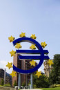Euro in reverse Royalty Free Stock Photo
