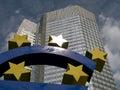 Euro sculpture Frankfurt Royalty Free Stock Image
