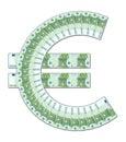 Euro symbol Royalty Free Stock Photo
