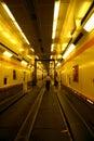 Euro Tunnel Royalty Free Stock Photo
