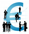 Euro vector Stock Images