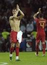 EURO2008 Portugal-Turkey 2:0 Stock Photo