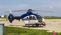 Eurocopter ec p cn romanian police construction number date of manufacture Stock Photography