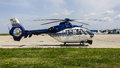 Eurocopter ec p cn romanian police construction number date of manufacture Stock Photos