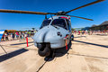 Eurocopter nh albacete spain jun helicopter taking part in a static exhibition on the open day of the airbase of los llanos on jun Royalty Free Stock Photos