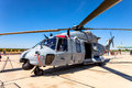 Eurocopter nh albacete spain jun helicopter taking part in a static exhibition on the open day of the airbase of los llanos on jun Royalty Free Stock Photography