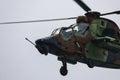 Eurocopter tiger spanish army et festa al cel sky party air show mataro spain september Royalty Free Stock Photos