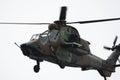 Eurocopter tiger spanish army et festa al cel sky party air show mataro spain september Stock Photo