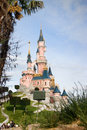 Eurodisney-White snow castle