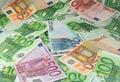 Europäisches Bargeld Stockfotografie