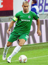Europa league steaua bucharest maccabi haifa s yaniv katan pictured in action during an group stage game between romania and Stock Photo