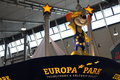 Europa park is the largest theme in germany and the second most popular theme resort in europe following disneyland Royalty Free Stock Images
