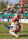 Europa Rugby Cup - Benetton vs Munster Stock Photos