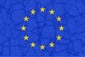 Europe is breaking, symbolic