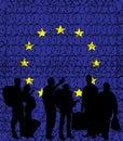 Europe (European Union) closing its borders due to migrant crisi