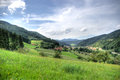 Europe rural landscape Royalty Free Stock Photography