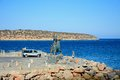 Europe statue by the sea, Agios Nikolaos. Royalty Free Stock Photo