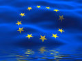 Europe Union Flag Royalty Free Stock Images