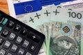 Europe vat tax polish individual Royalty Free Stock Photo