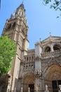 European architecture Toledo Royalty Free Stock Photo
