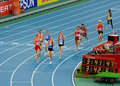 European Athletics 1500 meters Stock Images