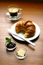 European breakfast Royalty Free Stock Images