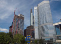 European central bank in frankfurt am main germany Stock Image