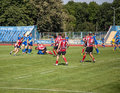 European championship ukraine norway rugby euro bowl held in kharkov july Stock Images
