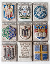 European Code of Arms Stock Images