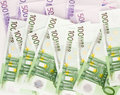 European currency euro background and Stock Photos