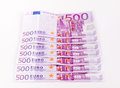European currency euro banknotes money Royalty Free Stock Images