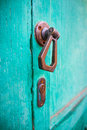 European door handle Royalty Free Stock Photo