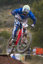 European Downhill Cup Stock Images