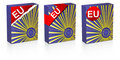 European flag Royalty Free Stock Photo