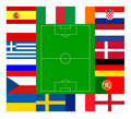 European football championship 2012 Royalty Free Stock Photo