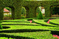 European garden Stock Images