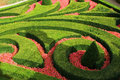 European garden maze Royalty Free Stock Photography