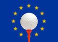 European golf Royalty Free Stock Photo