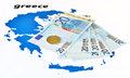 European help of Greece (euro zone crisis) Stock Photos