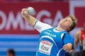European indoor athletics championship gothenburg sweden march chiara rosa italy places th in the women s shot put finals during Stock Photography