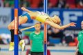 European indoor athletics championship gothenburg sweden march ebba jungmark sweden places nd in the women s high jump finals Stock Images