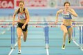 European indoor athletics championship gothenburg sweden march sara aerts belgium rd places rd in heat of the qualification of the Stock Photography