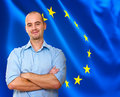 European man Royalty Free Stock Image