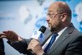 European Parliament President Martin Schulz Royalty Free Stock Photo