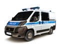 European police Royalty Free Stock Photo