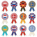European rosettes Stock Images