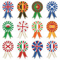 European rosettes Royalty Free Stock Photography