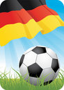 European soccer championship 2008 - Germany Royalty Free Stock Photos