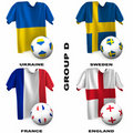 European Soccer - Group D Stock Images