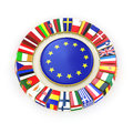 The european union d very beautiful image Stock Image